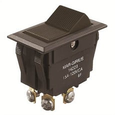 Ela Eletro Araguari CHAVE 14223 INT.BIP.A1B1P1Q (996) 15A >4C CHAVE MAR GIRIUS
