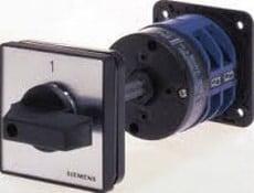 Ela Eletro Araguari CHAVE COMUT. AMP.5TW1 020-1 20A >7S CHAVE SIEMENS