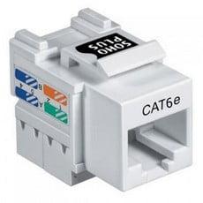 Ela Eletro Araguari CONECT.FEMEA GIGA CAT-6 T568A/B BR >8K CONECTOR FUROKAWA