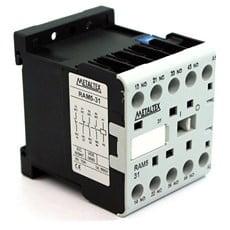 Ela Eletro Araguari CONTATOR AUXILIAR CX6-H5-22 220V 7AMP 2NA+2NF >1F CONTATOR METALTEX