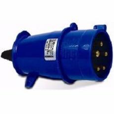 Ela Eletro Araguari PLUG N-4079 3P+T 16A 220V AZ 9H >1E PLUG STECK
