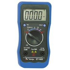 Ela Eletro Araguari MULTIMETRO DIGITAL ET-1605>1B MULTIMETRO MINIPA