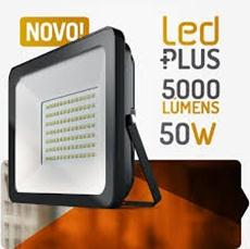 Ela Eletro Araguari PROJETOR LED 50W 6400K ALTO RENDIMENTO >1O PROJETOR SPOT LUX