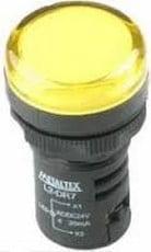 Ela Eletro Araguari SINALEIRO LED L20-DR2-Y 220V AM >1F SINALEIRO METALTEX