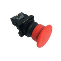 Botão Cogumelo Com Trava P20BKR-R 1B