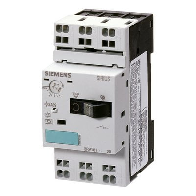Disjuntor Motor Siemens 3rv1011 1aa10 1,6A