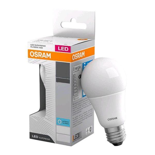 Lâmpada LED Bulbo Bivolt 9,5W 6500K