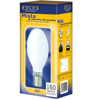 Lâmpada Mista FLC 160W 220V E27