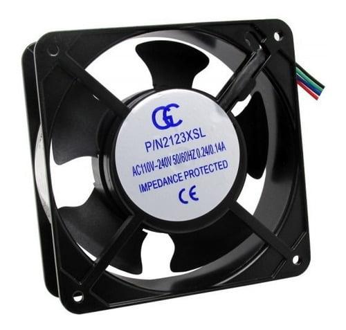 Micro Ventilador Cooler Bivolt 120x120x25