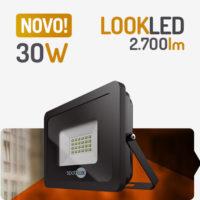 Projetor Refletor LED 30W 6400K