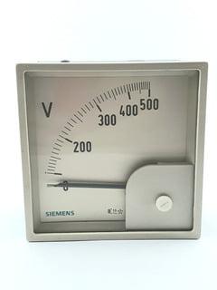 Voltímetro Analógico 0a 150 Vca 96x96mm 500V 7KM07